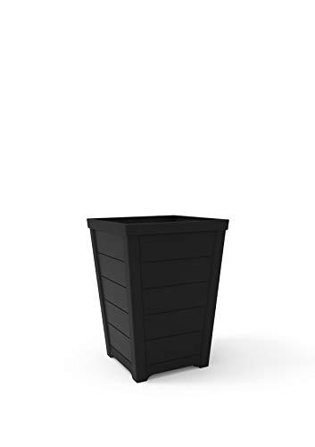 Exclusivas macetas cuadradas 25 litros de apariencia moderna para exterior e interior