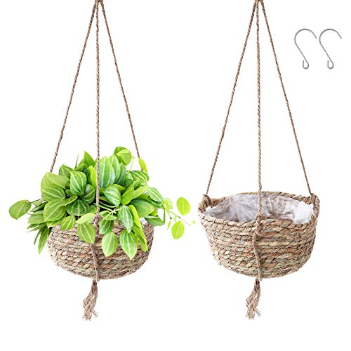 Decorativas cestas colgantes para plantas de excelente relacion calidad precio