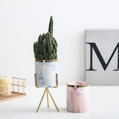 Macetas de cerámica para escritorios baratas