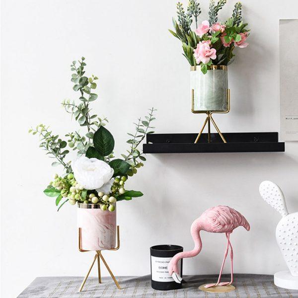 Macetas de cerámica baratas y modernas