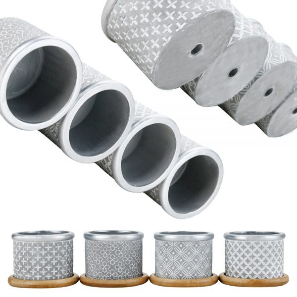 Macetas cemento economicas