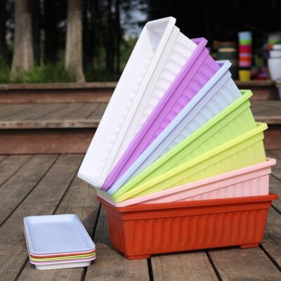 Maceteros rectangulares de plastico buen precio